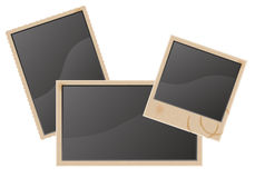Old blank photo vector illustration Royalty Free Stock Photography