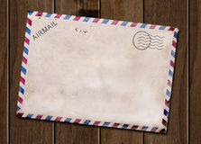 Free Old Blank Post Card. Stock Photos - 28669513