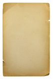 Old blank sheet of paper Royalty Free Stock Image