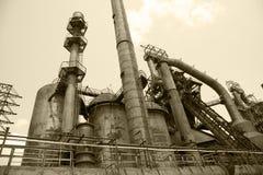 Old blast furnace Stock Image