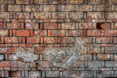 An old block brick wall Royalty Free Stock Photography