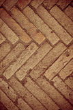 Old block pavement, fragment, texture background Royalty Free Stock Image