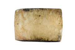 Old block wood in kitchen Stock Photos