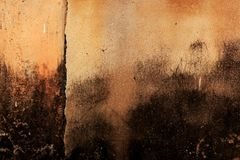 Old, blotted wall Royalty Free Stock Photo