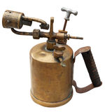 Old blowtorch Stock Images
