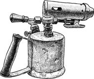 Old blowtorch Stock Photography