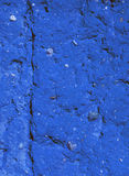 Old blue and aged wall background Stock Photos