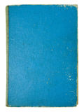 Old blue book pages isolated Stock Photography