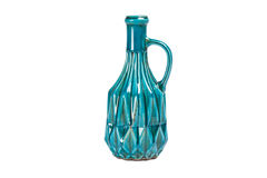 Old blue bottle Royalty Free Stock Photography