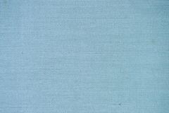 Old blue canvas texture Royalty Free Stock Images