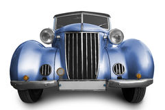 Old blue car Royalty Free Stock Photography
