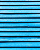 Old blue coloured wooden facade Royalty Free Stock Photography