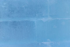 The old blue cracked ice texture closeup. Blue cracked ice texture closeup Royalty Free Stock Photos