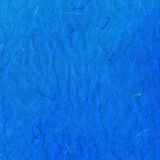 Old blue crumpled rice paper texture Stock Photo