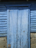 Old Blue Door Royalty Free Stock Images