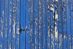 Old blue door Stock Image