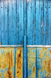 Old Blue Door Detail Royalty Free Stock Image