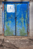 Old blue door Royalty Free Stock Photography