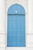 Old blue doors Royalty Free Stock Photo