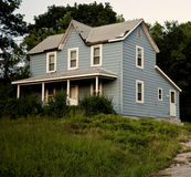 Old Blue Farmhouse Royalty Free Stock Photography