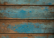 Old blue grunge wooden background Stock Photo