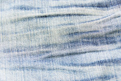Old blue jeans Royalty Free Stock Photos