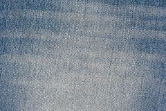 Old blue jeans pattern background Stock Photo
