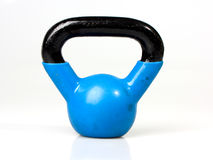 Old Blue Kettle Bell Stock Photos