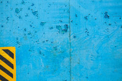 Old blue metal texture Royalty Free Stock Photos