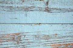 Old blue oak plank background Stock Photos