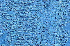 Old blue paint Stock Photos