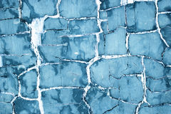 Old blue paint Royalty Free Stock Photos