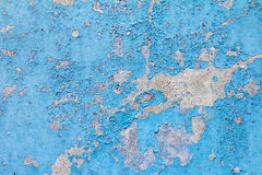 Old Blue Paint Background Texture Royalty Free Stock Photos