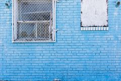Blue Brick for Background Royalty Free Stock Photography
