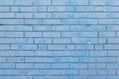 Blue Brick for Background Royalty Free Stock Image