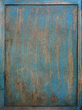 Old blue painted grunge background Stock Photos