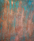Old blue painted grunge wood Royalty Free Stock Images