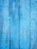 Old blue painted timber wood texture Royalty Free Stock Photos