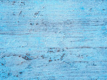 Old blue painted timber wood texture Stock Photo