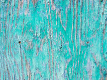 Old blue painted wood background Royalty Free Stock Photos