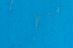 Old blue painted wood texture Royalty Free Stock Images
