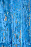 Old blue painted wooden boards Royalty Free Stock Image