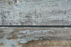 Old blue painted wooden boards Stock Photo