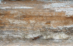 Old blue painted wooden boards Royalty Free Stock Photography