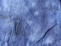 Old blue paper texture Stock Images
