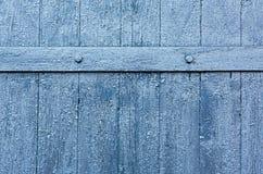 Old Blue Peeling Paint Wood Background Royalty Free Stock Photos
