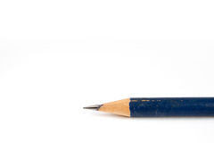 Old blue pencil Stock Image