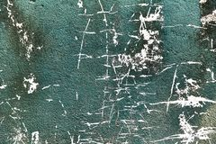 Old blue shabby concrete wall. Texture. royalty free stock photo