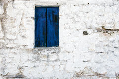 Old Blue Shutter Royalty Free Stock Images