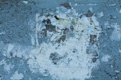 Old blue textures wall background. Perfect background with space.  royalty free stock image